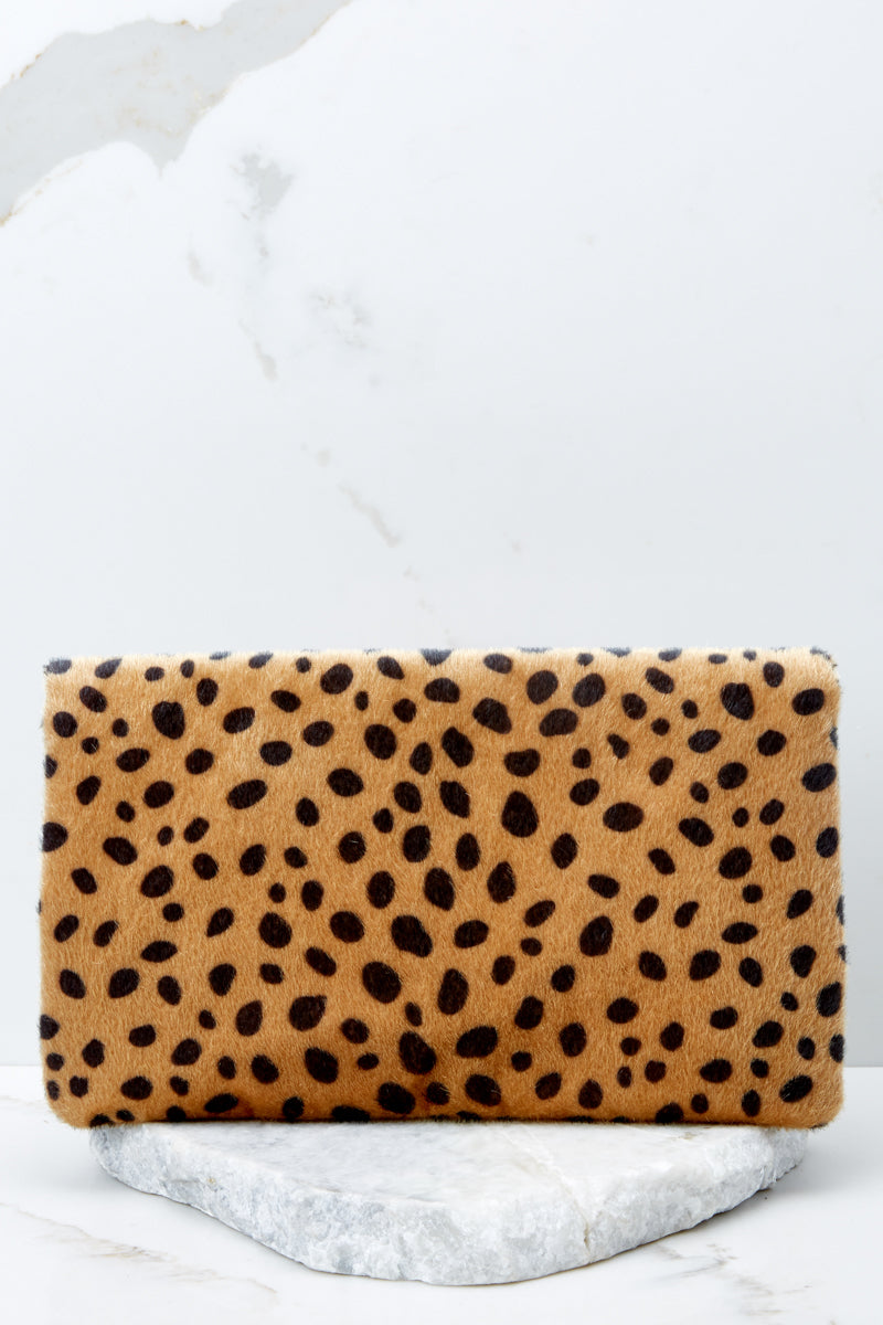 4 Concrete Jungle Cheetah Print Clutch at reddress.com