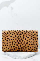 7 Concrete Jungle Cheetah Print Clutch at reddress.com