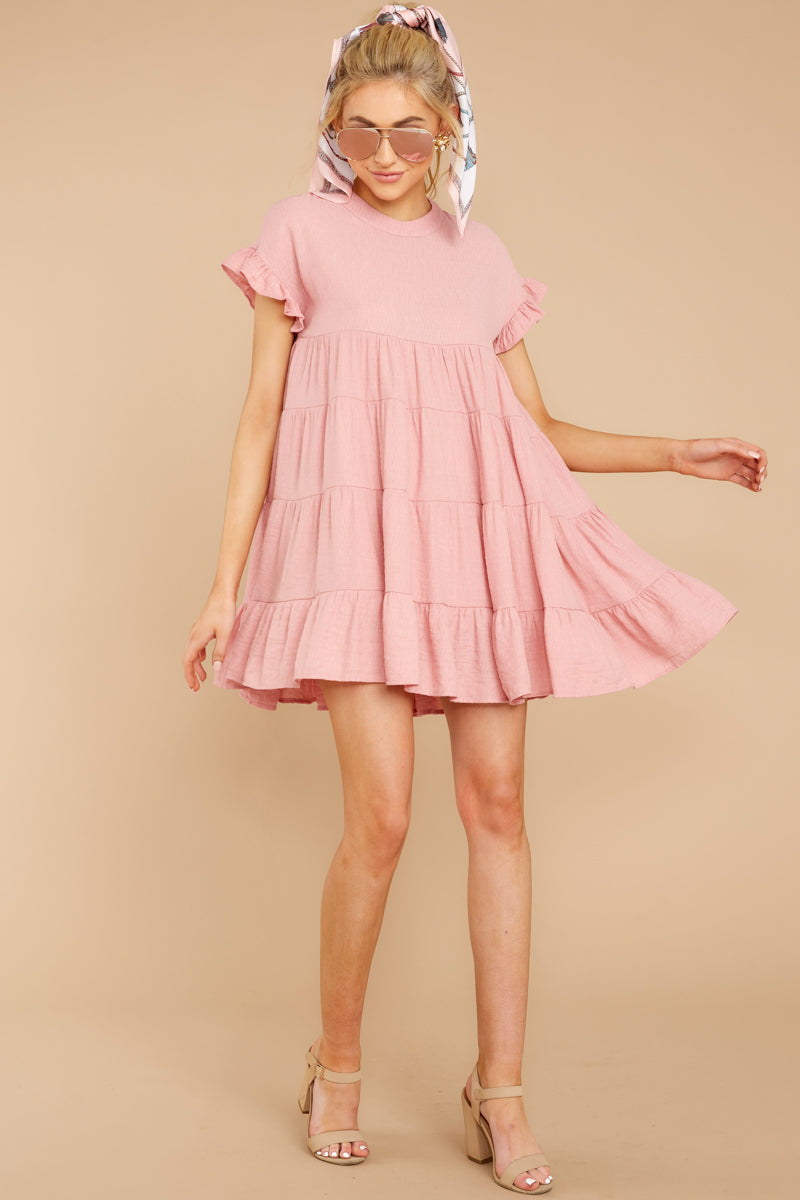 2 Nothing More Nothing Less Light Pink Dress at reddressboutique.com