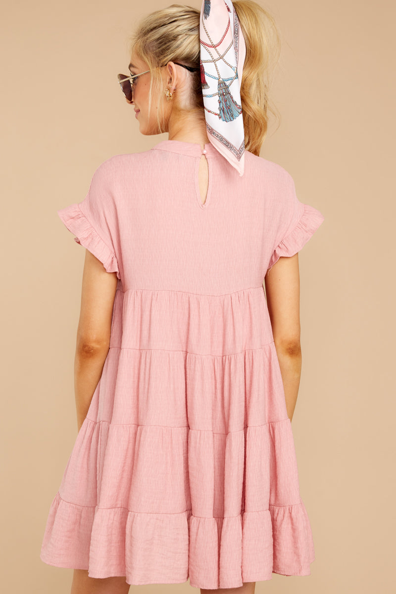7 Nothing More Nothing Less Light Pink Dress at reddressboutique.com