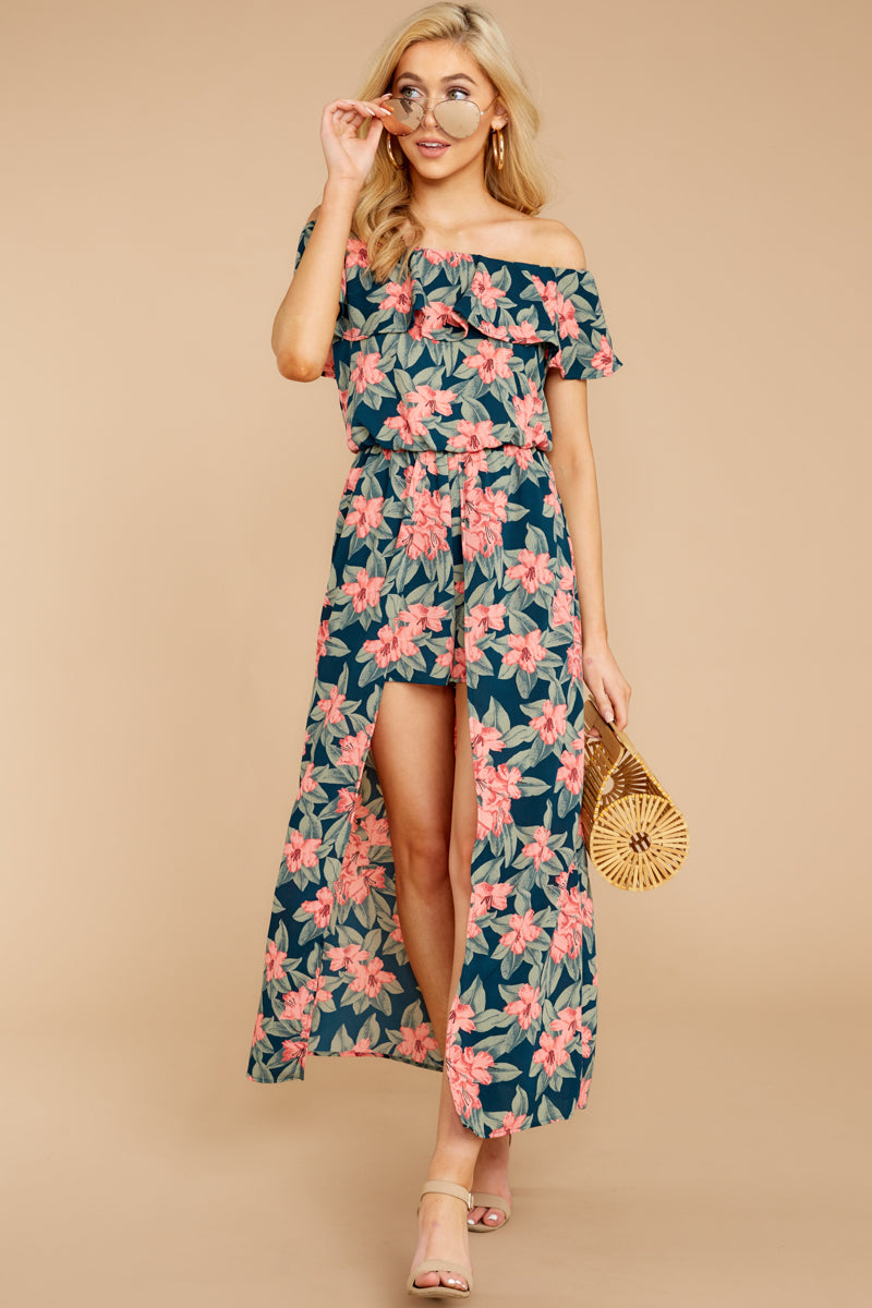 Try Something Different Romper In Jungle Surprise