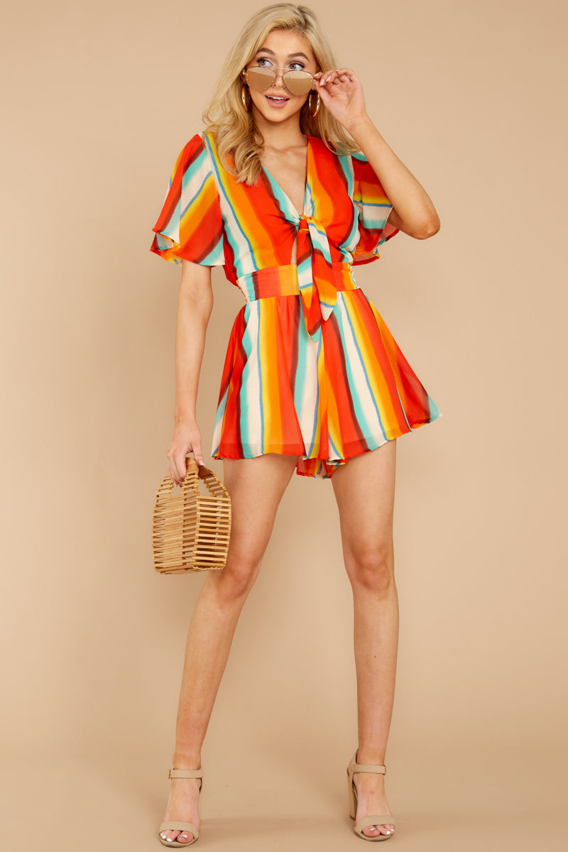 2 Think We Oughta Romper In Summer Heat at reddressboutique.com