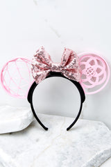 3 A Grand Throwback Bubblegum With Bubblegum Sequin Bow at reddressboutique.com