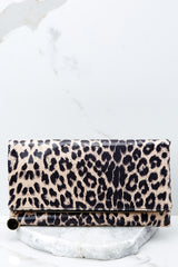 1 This Wild Life Light Leopard Clutch at reddressboutique.com