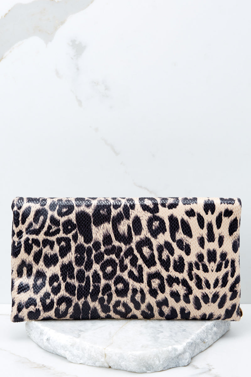 2 This Wild Life Light Leopard Clutch at reddressboutique.com