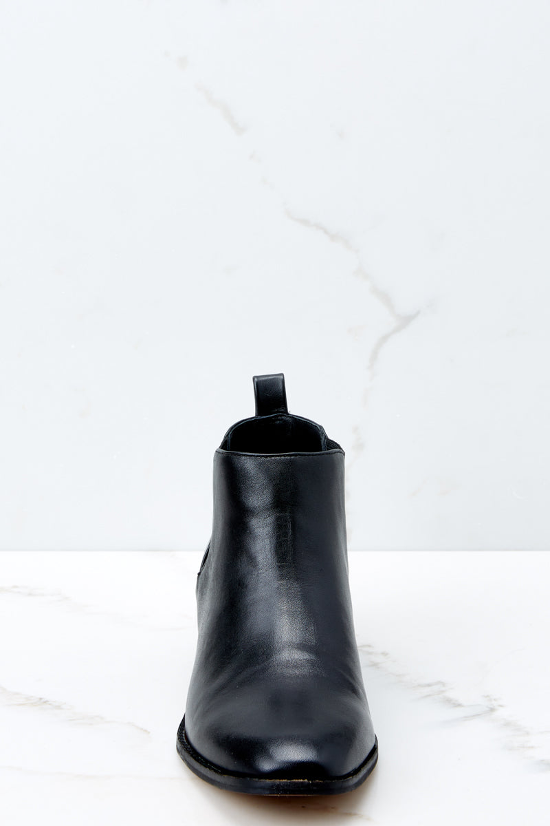 2 Jahlily Ankle Bootie In Black at reddressboutique.com