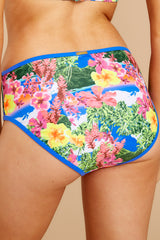 2 Secret Cove Island Print Bikini Bottoms at reddressboutique.com
