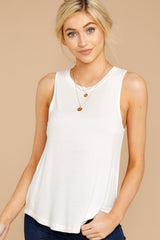 1 Patiently Waiting White Tank at reddress.com
