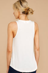 6 Patiently Waiting White Tank at reddress.com