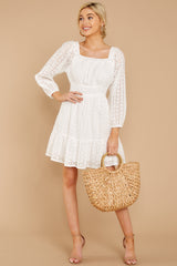 2 Someday Soon White Dress at reddressboutique.com