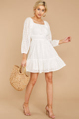 1 Someday Soon White Dress at reddressboutique.com