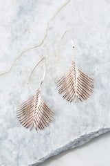 2 What A Welcome Rose Gold Earrings at reddress.com