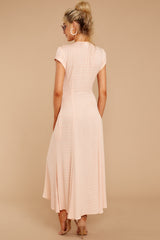 5 Spring In Morocco Blush Pink Print Maxi Dress at reddressboutique.com