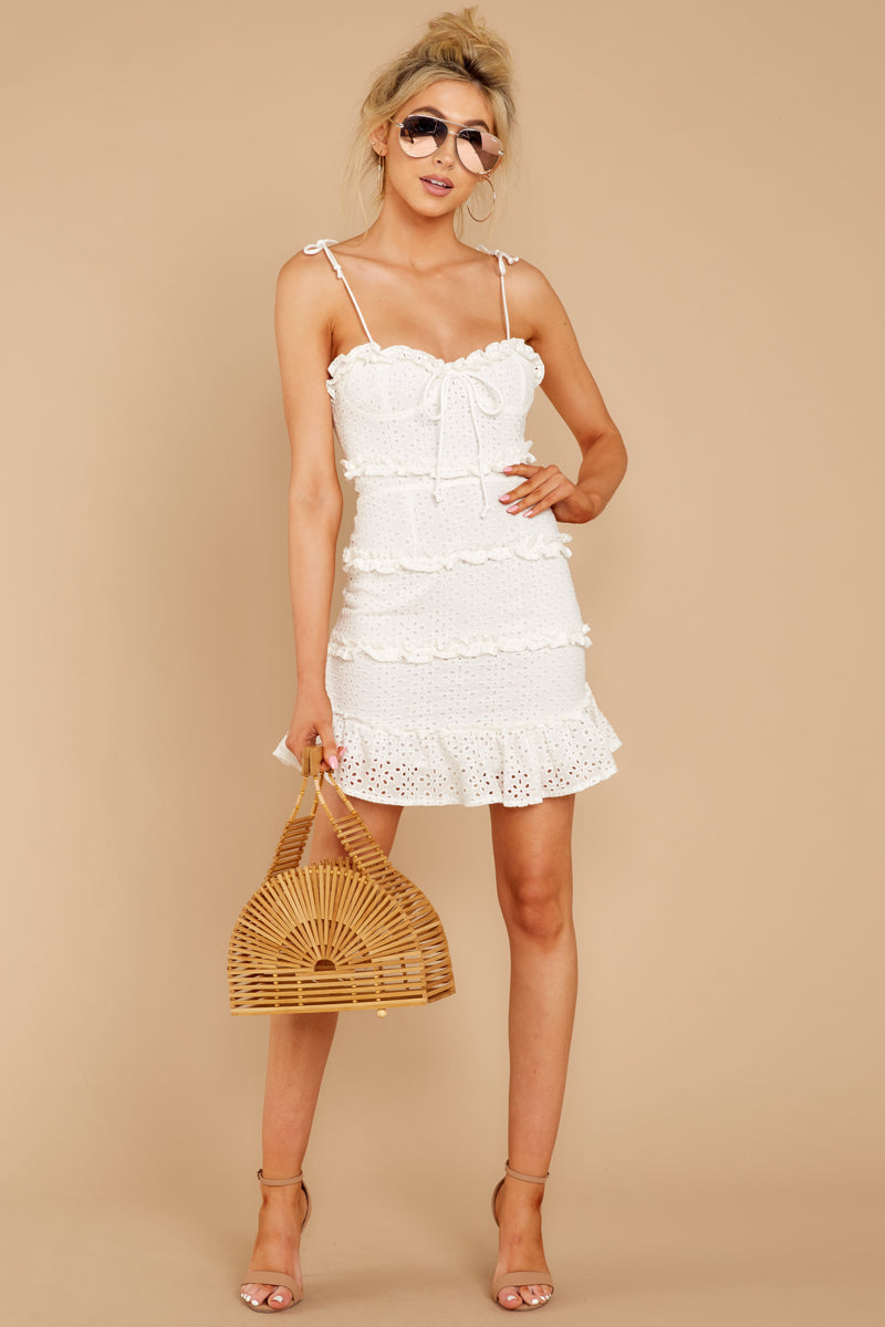 2 Breath Of Fresh Air White Lace Dress at reddressboutique.com