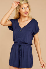 5 The Black Iris Blaire Sleek Jersey Romper at reddress.com