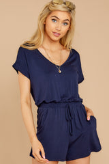 1 The Black Iris Blaire Sleek Jersey Romper at reddress.com