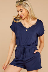 6 The Black Iris Blaire Sleek Jersey Romper at reddress.com