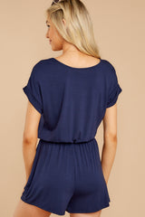 7 The Black Iris Blaire Sleek Jersey Romper at reddress.com
