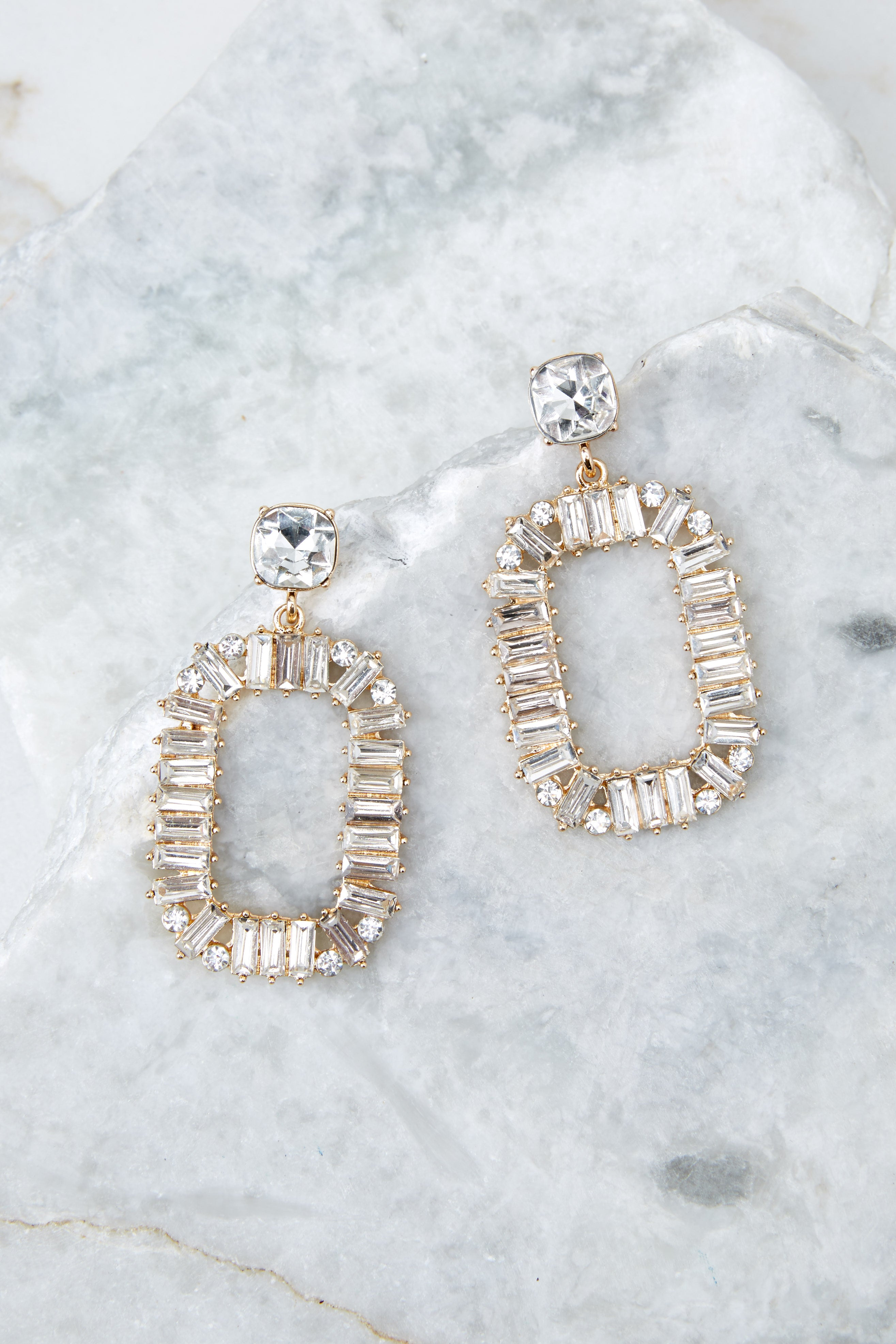 Royal Me Crystal Jewel Earrings