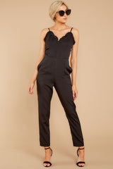 2 How We Roll Black Jumpsuit at reddressboutique.com