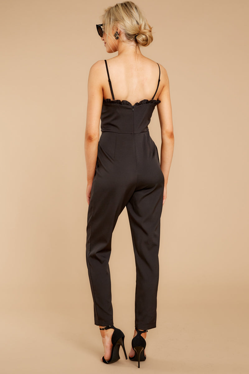 6 How We Roll Black Jumpsuit at reddressboutique.com