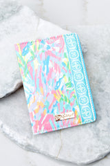 Lilly Pulitzer Sparkling Sands Passport Cover