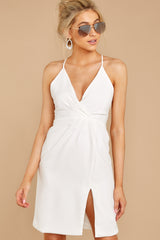 5 Out For The Night White Dress at reddressboutique.com
