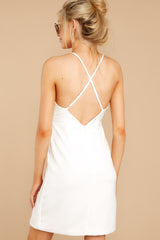 7 Out For The Night White Dress at reddressboutique.com