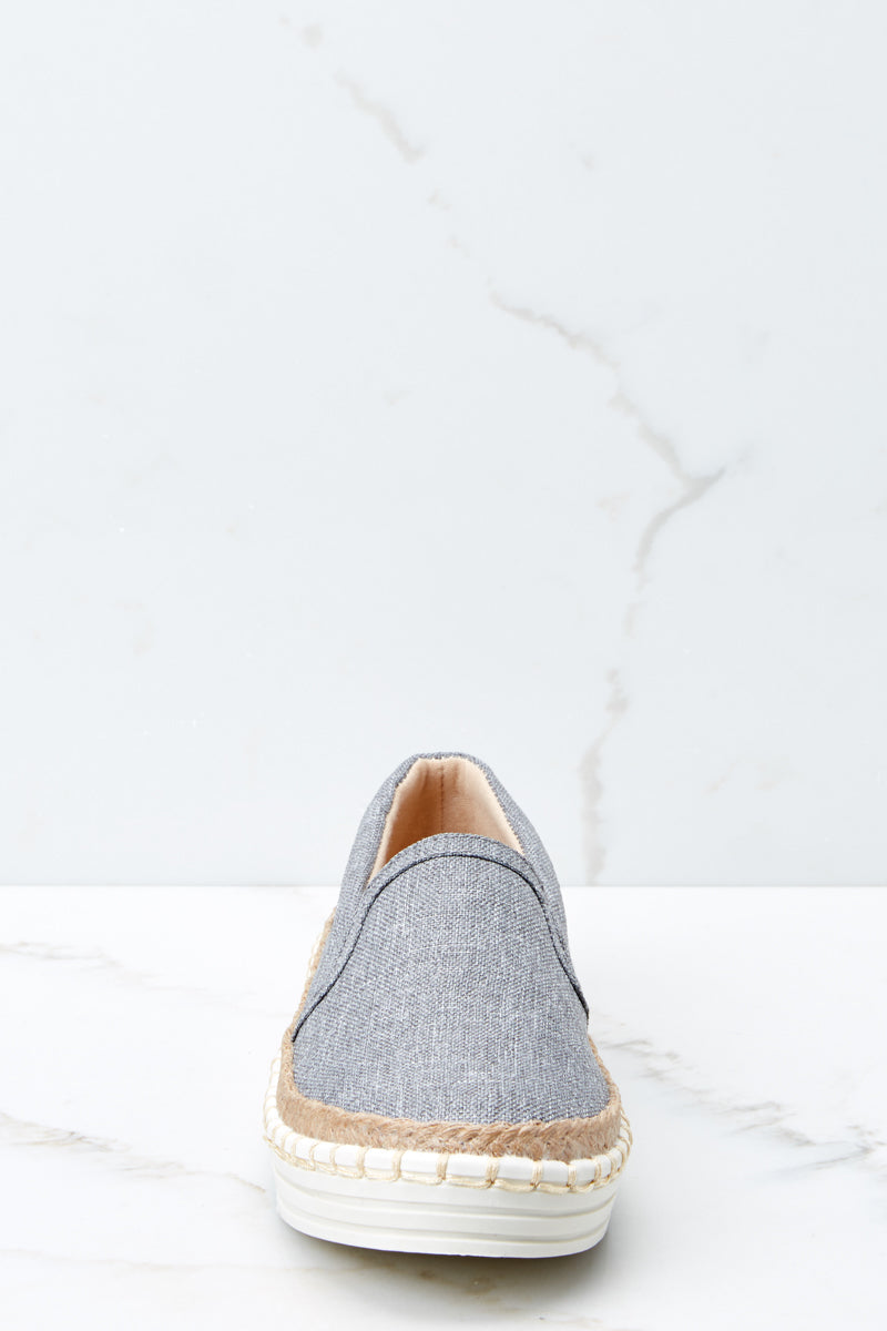 2 Going Anywhere Grey Slip On Sneakers at reddressboutique.com