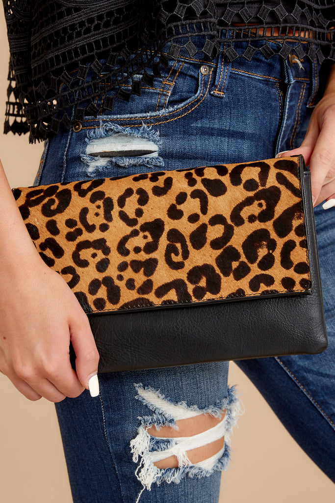1 Concrete Jungle Cheetah Print Clutch at reddress.com