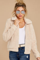 5 The Pearl Sherpa Crop Jacket at reddressboutique.com