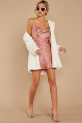 6 Made You Look Mauve Pink Satin Dress at reddress.com
