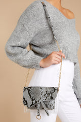 1 Everyone Will Know Snake Print Purse at reddressboutique.com