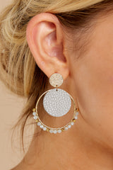 1 Got Your Love Grey Earrings at reddressboutique.com