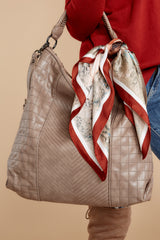 1 City Life Taupe Handbag at reddressboutique.com