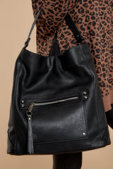 6 Carry Along Black Handbag at reddressboutique.com