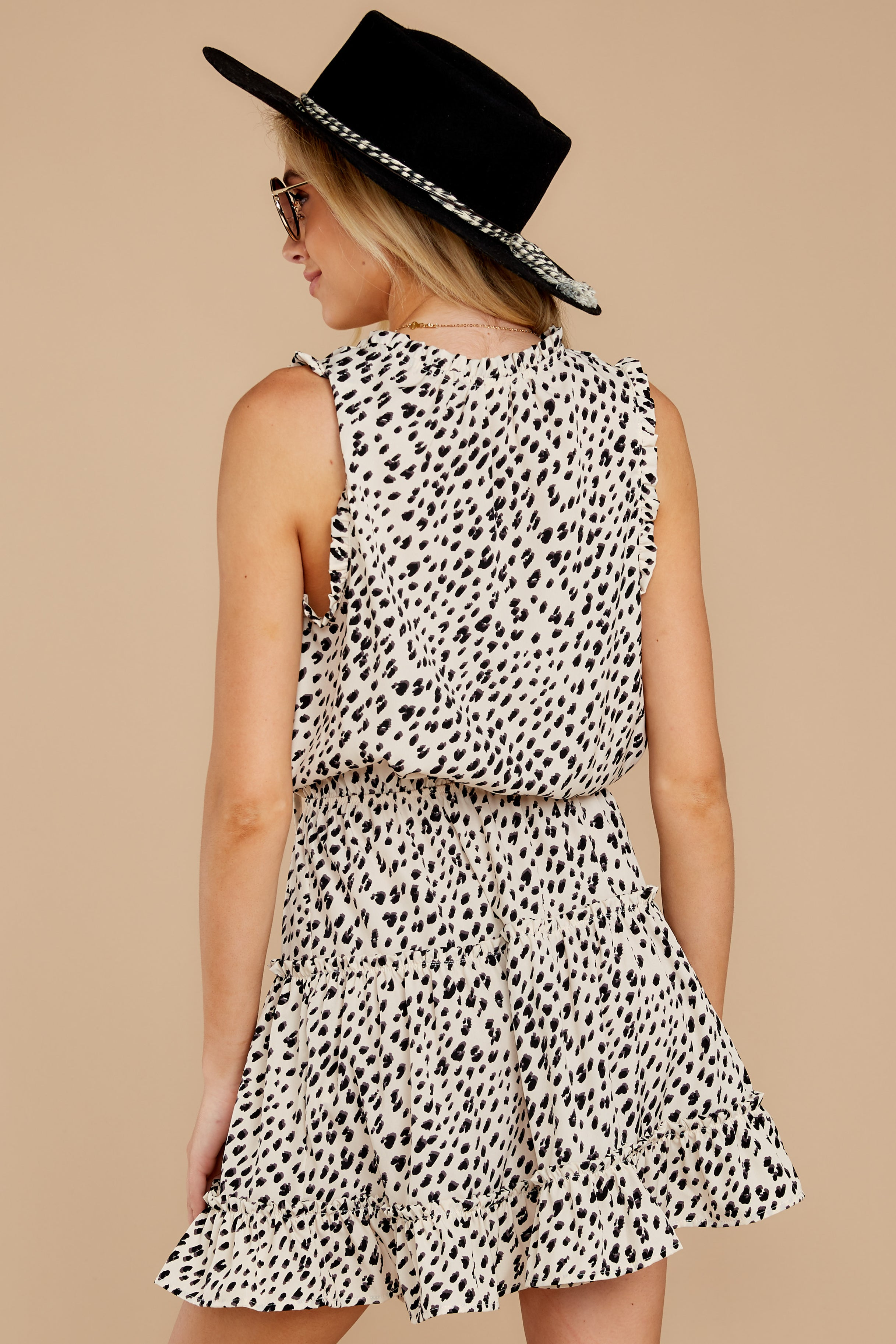 8 In A Major Way Ivory Cheetah Print Dress at reddressboutique.com