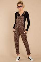 2 The French Roast Leopard Overalls at reddressboutique.com