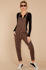 4 The French Roast Leopard Overalls at reddressboutique.com
