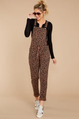3 The French Roast Leopard Overalls at reddressboutique.com