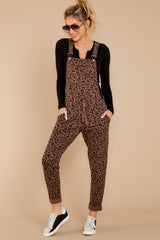 5 The French Roast Leopard Overalls at reddressboutique.com