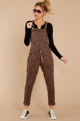 6 The French Roast Leopard Overalls at reddressboutique.com