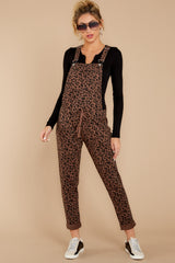 7 The French Roast Leopard Overalls at reddressboutique.com