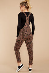8 The French Roast Leopard Overalls at reddressboutique.com