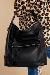 1 Carry Along Black Handbag at reddressboutique.com