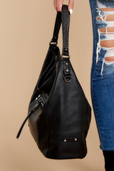 2 Carry Along Black Handbag at reddressboutique.com