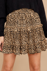 2 Loose In NYC Cheetah Print Skirt at reddressboutique.com