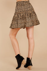 4 Loose In NYC Cheetah Print Skirt at reddressboutique.com