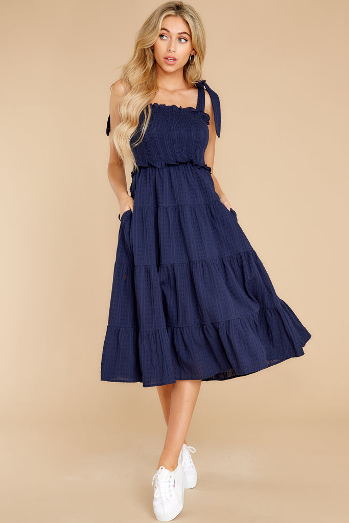 History In The Making Navy Dress