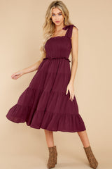 2 Our Favorite Date Mulberry Maxi Dress at reddress.com